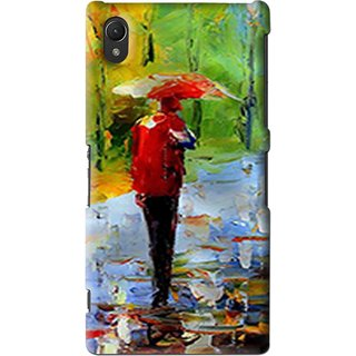 Snooky Printed Painting Mobile Back Cover For Sony Xperia Z2 - Multi