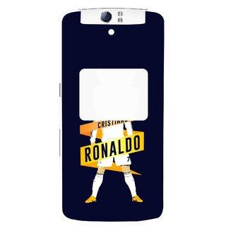 Snooky Printed Ronaldo Mobile Back Cover For Oppo N1 - Multi