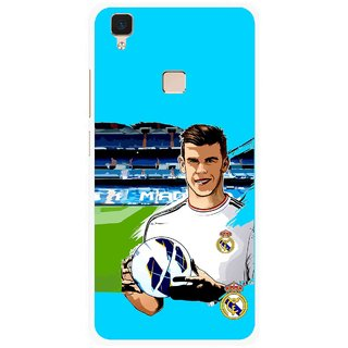 Snooky Printed Football Champion Mobile Back Cover For Vivo V3 - Multi