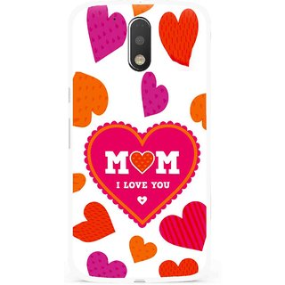 Snooky Printed Mom Mobile Back Cover For Moto G4 Plus - Multi