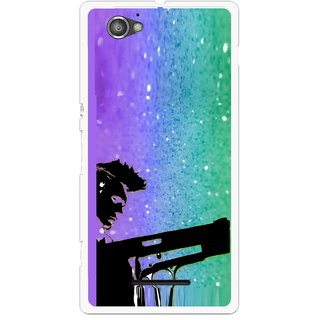 Snooky Printed Sparkling Boy Mobile Back Cover For Sony Xperia M - Multicolour