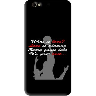 Snooky Printed Game Lover Mobile Back Cover For Gionee Elife S6 - Black