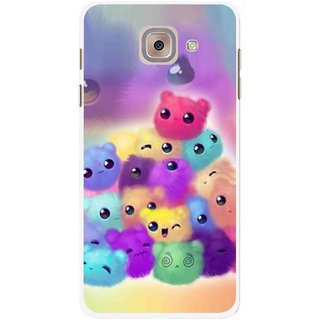Snooky Printed Cutipies Mobile Back Cover For Samsung Galaxy J7 Max - Multicolour