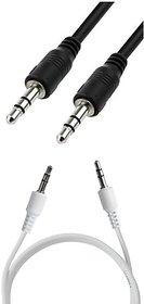 Pinnaclz Aux Cable 1m Black