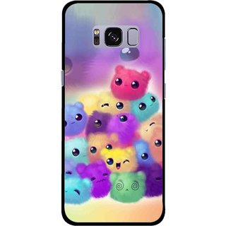 Snooky Printed Cutipies Mobile Back Cover For Samsung Galaxy S8 - Multicolour