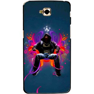 Snooky Printed Live In Attitude Mobile Back Cover For Lg G Pro Lite - Multicolour