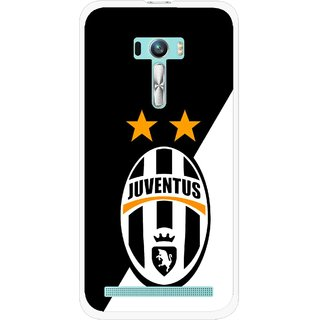 Snooky Printed Football Club Mobile Back Cover For Asus Zenfone Selfie - Black
