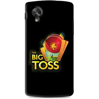 Snooky Printed Big Toss Mobile Back Cover For Lg G5 - Black