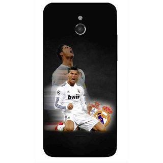 Snooky Printed Football Champion Mobile Back Cover For Infocus M2 - Multicolour