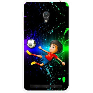 Snooky Printed High Kick Mobile Back Cover For Asus Zenfone Go ZC451TG - Multi