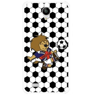 Snooky Printed Football Cup Mobile Back Cover For Vivo Y22 - Multi