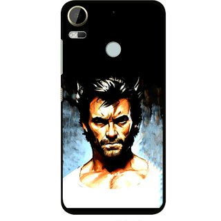 Snooky Printed Angry Man Mobile Back Cover For HTC Desire 10 Pro - Multi