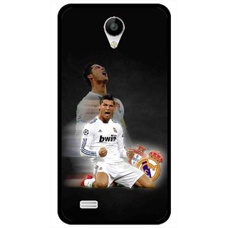 Snooky Printed Football Champion Mobile Back Cover For Vivo Y22 - Multicolour