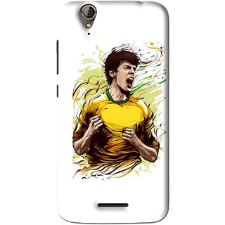 Snooky Printed I Win Mobile Back Cover For Acer Liquid Z630S - White