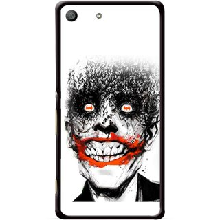 Snooky Printed Joker Mobile Back Cover For Sony Xperia M5 - Multicolour