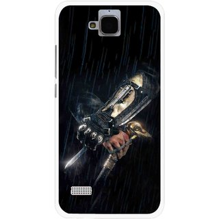 Snooky Printed The Thor Mobile Back Cover For Huawei Honor Holly - Multicolour
