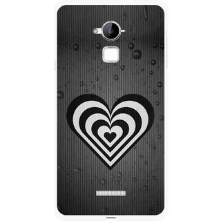 Snooky Printed Hypro Heart Mobile Back Cover For Coolpad Note 3 - Multi