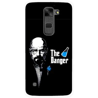 Snooky Printed The Danger Mobile Back Cover For Lg Stylus 2 - Multi
