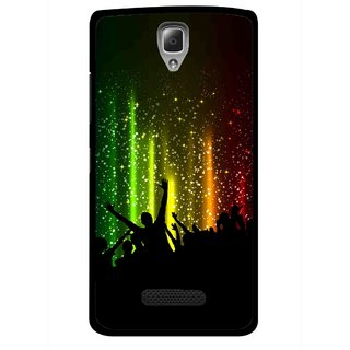 Snooky Printed Party Time Mobile Back Cover For Lenovo A2010 - Multicolour