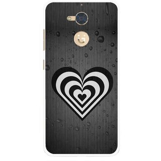 Snooky Printed Hypro Heart Mobile Back Cover For Gionee S6 Pro - Multi