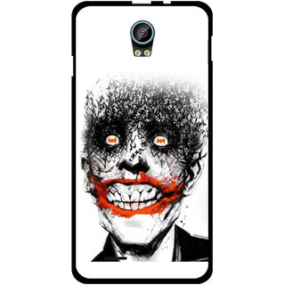 Snooky Printed Joker Mobile Back Cover For Intex Aqua Life 2 - Multicolour