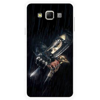 Snooky Printed The Thor Mobile Back Cover For Samsung Galaxy E7 - Multicolour