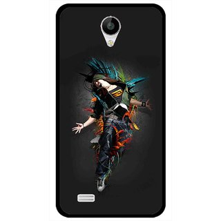 Snooky Printed Music Mania Mobile Back Cover For Vivo Y22 - Multicolour