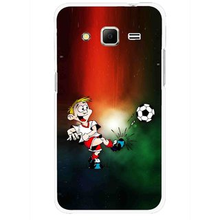 Snooky Printed My Passion Mobile Back Cover For Samsung Galaxy Core Prime - Multi