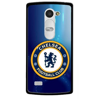 Snooky Printed Football Club Mobile Back Cover For Lg Leon - Blue
