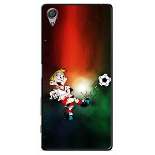 Snooky Printed My Passion Mobile Back Cover For Sony Xperia X - Multi
