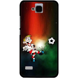 Snooky Printed My Passion Mobile Back Cover For Huawei Honor Holly - Multi
