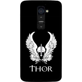 Snooky Printed The Thor Mobile Back Cover For Lg G2 - Multi