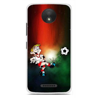 Snooky Printed My Passion Mobile Back Cover For Motorola Moto C Plus - Multi