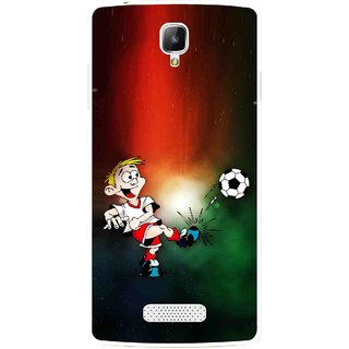 Snooky Printed My Passion Mobile Back Cover For Oppo Neo 3 R831k - Multi