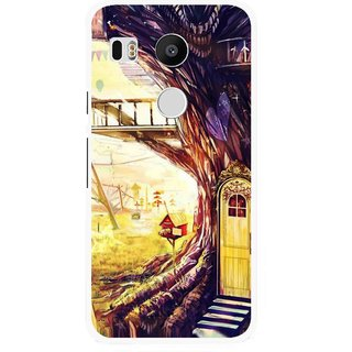 Snooky Printed Dream Home Mobile Back Cover For Lg Google Nexus 5X - Multi