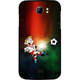 Snooky Printed My Passion Mobile Back Cover For Micromax Canvas 2 A110 - Multi
