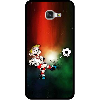 Snooky Printed My Passion Mobile Back Cover For Samsung Galaxy A5 2016 - Multi