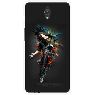 Snooky Printed Music Mania Mobile Back Cover For Asus Zenfone C - Multicolour