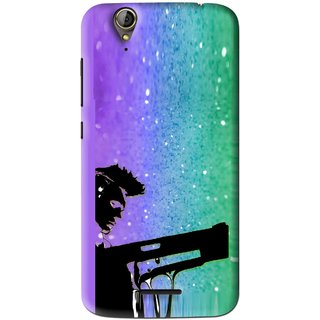 Snooky Printed Sparkling Boy Mobile Back Cover For Acer Liquid Z630S - Multi