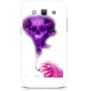 Snooky Printed Danger Mobile Back Cover For Samsung Galaxy 8552 - Multicolour