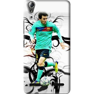 Snooky Printed Football Champion Mobile Back Cover For Lenovo A6000 - Multi