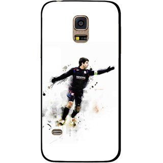 Snooky Printed Pass Me Mobile Back Cover For Samsung Galaxy S5 Mini - White