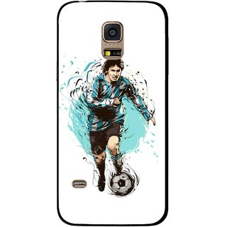 Snooky Printed Have To Win Mobile Back Cover For Samsung Galaxy S5 Mini - White