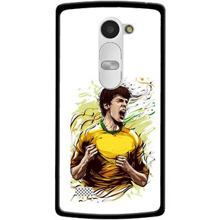 Snooky Printed I Win Mobile Back Cover For Lg Leon - White