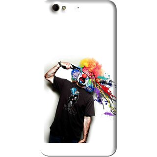 Snooky Printed Shooting Joker Mobile Back Cover For Gionee Elife S6 - Multi
