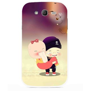 Snooky Printed Friendship Mobile Back Cover For Samsung Galaxy Grand I9082 - Multicolour