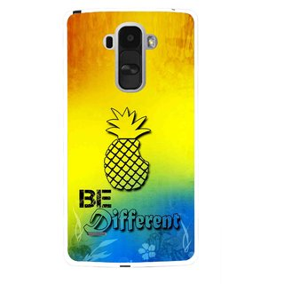 Snooky Printed Be Different Mobile Back Cover For Lg G4 Stylus - Multi