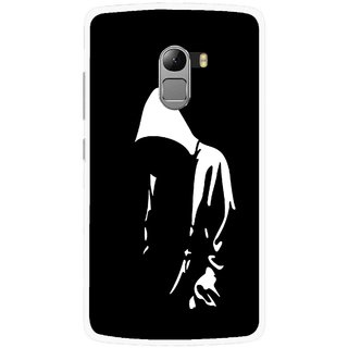 Snooky Printed Thinking Man Mobile Back Cover For Lenovo K4 Note - Black