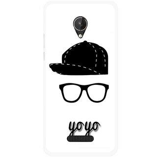 Snooky Printed Yo Yo Mobile Back Cover For Micromax Canvas Spark Q380 - Multicolour