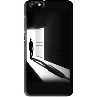 Snooky Printed Night Out Mobile Back Cover For Huawei Honor 4X - Multi